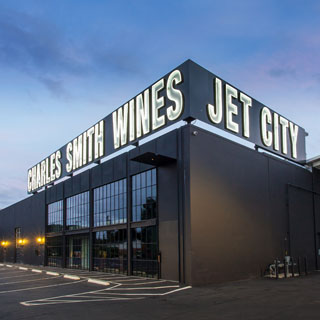 Charles Smith Wines Jet City near Boeing Field
