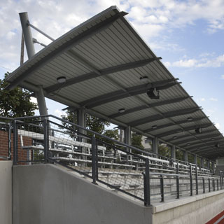 Seattle University Championship Field Grandstand