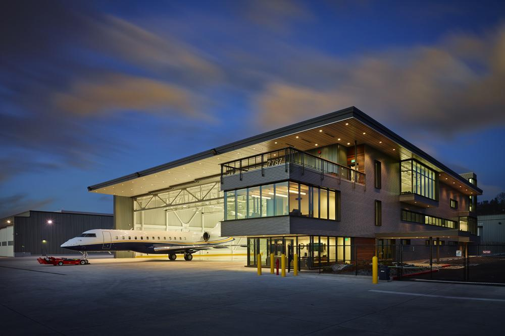 Northwest airplane hangar pcs structural solutions for Aircraft hanger designs