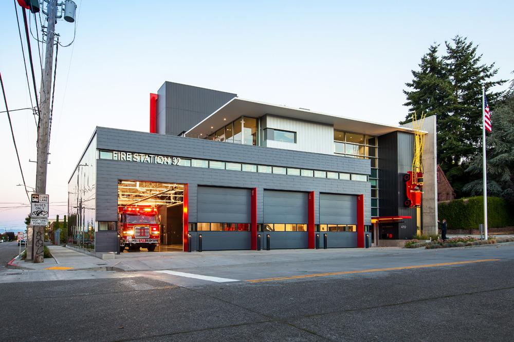 seattle fire station  pcs structural solutions