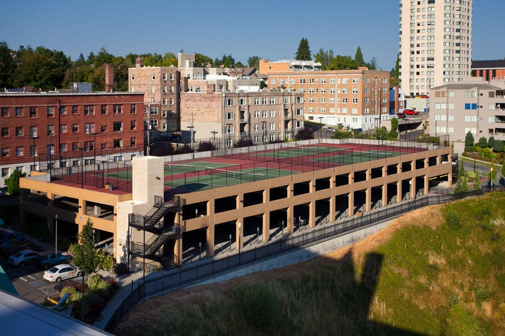 Stadium High School Parking Garage | PCS Structural Solutions